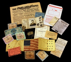 Items owned by Frank L. Lowther from the Eighth Evacuation Hospital Collection, Claude Moore Health Sciences Library