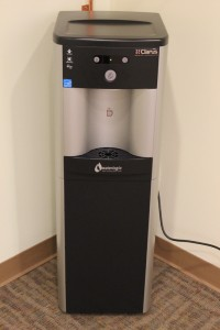 The Library has purchased a filtered water dispenser (cold and hot) for the after-hours space.  Bring your cups, glasses, or bottles, and fill up!