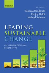 This book is designed to support business leaders and organizational scholars who are grappling with this challenge by pulling together leading-edge insights from some of the world's best researchers as to how organizational change in general—and sustainable change in particular—can be most effectively managed.