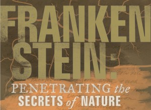 Frankenstein Exhibit Poster